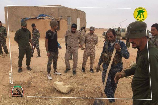Photo of الحشد الشعبي يعثر على اسلحة ووثائق لداعش غرب الانبار