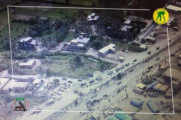 Photo of طيران الحشد يجري عمليات مسح واستطلاع بمساحة 500 كم لتأمين الزيارة الأربعينية