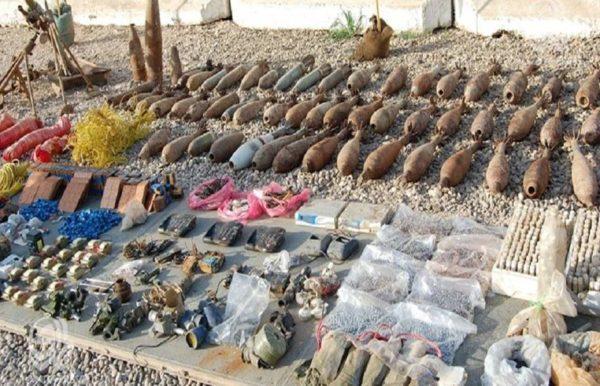 Photo of الدفاع : العثور على مخبأ لقنابر الهاون فــي ناحية الصقلاوية