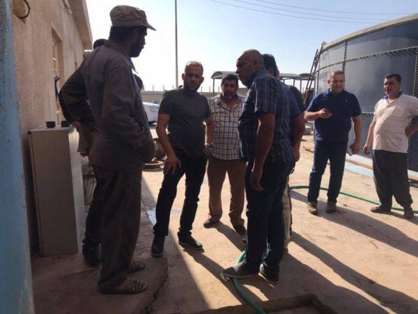 Photo of عدي عواد توقف نصف مضخات مشروع ماء R-zero بعد انخفاض تجهيز المياه من ماء البدعة في البصرة