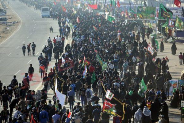 """Photo of قطع طريق """"كركوك_ بغداد"""" لتأمين سير زوار الاربعينية"""