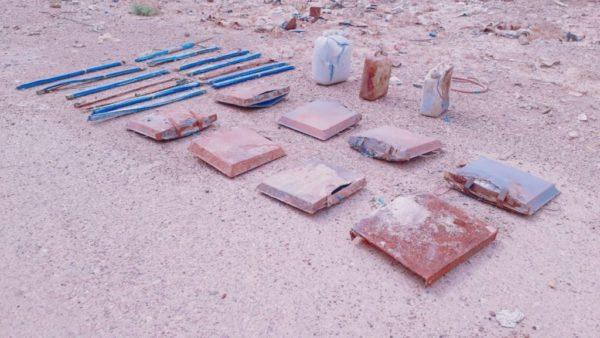 Photo of الاستخبارات العسكرية : العثور على مخبأ للعبوات الناسفة في الانبار