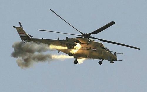 Photo of طيران الجيش يدمر عجلة نوع بيك اب تحمل 3 إرهابيين في الانبار