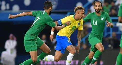 Photo of المنتخب السعودي يخسر أمام البرازيل