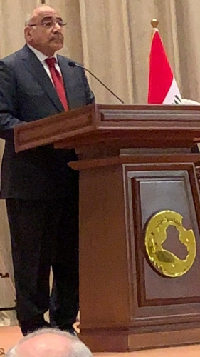 "Photo of الاصلاح ""يهدد"" بـ""اسقاط"" حكومة عبد المهدي"