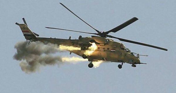 Photo of طيران الجيش يقصف وكرين لداعش في زور الاصلاح قرب ناحية جلولاء