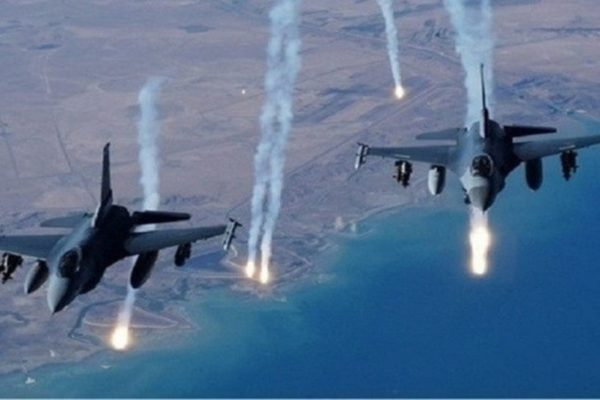 Photo of التحالف الدولي يقصف مواقع لداعش في مخمور