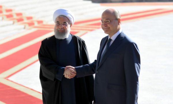 Photo of بالصور: مراسيم استقبال رئيس الجمهورية من قبل الجانب الإيراني أثناء وصولة