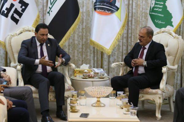 Photo of النائب الاول لرئيس مجلس النواب يزور نقابة الصحفيين العراقيين