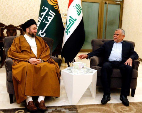 Photo of السيد عمار الحكيم يطالب خلال لقائه العامري الكتل السياسية بالتنازل للعراق وتغليب المصلحة العامة