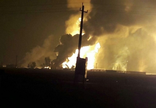Photo of إصابة 11 شخصاً بإنفجار في بابل الإيرانية