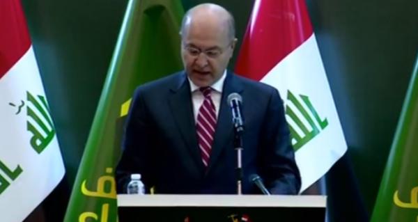 Photo of رئيس الجمهورية: النصر على داعش تحقق بنداء المرجعية