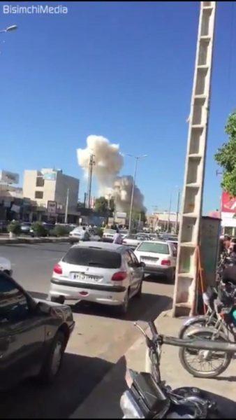 Photo of عاجل.. انفجار يهز مدينة بابهار بالجمهورية الإسلامية الإيرانية وسقوط عدد من الشهداء والجرحى