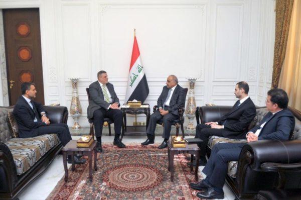 Photo of عادل عبد المهدي يستقبل رئيس بعثة الامم المتحدة في العراق السيد يان كوبيتش بمناسبة انتهاء مهام عمله