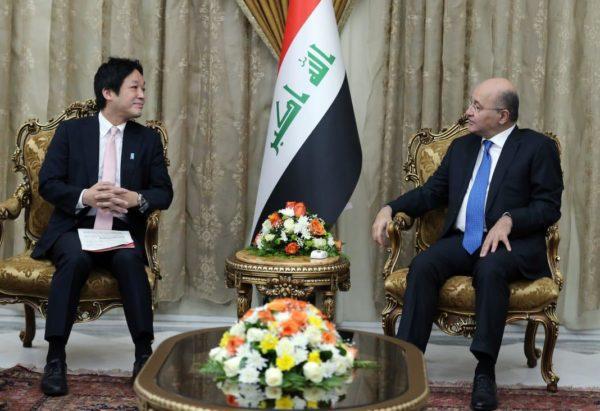 Photo of صالح يستقبل المستشار الخاص لرئيس الوزراء الياباني