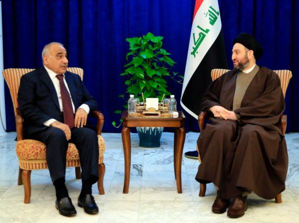 Photo of الحكيم يبحث مع رئيس مجلس الوزراء السيد عادل عبد المهدي مستجدات الوضع السياسي واستكمال الكابينة الحكومية
