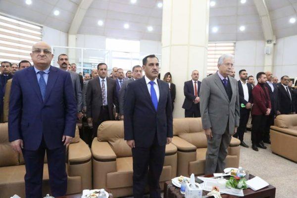 "Photo of الصناعة والمعادن تقيم ندوة علمية تحت عنوان ""التاكل افة التنمية في العراق"""