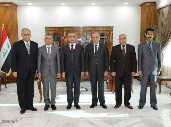 Photo of خمسة من قضاة محكمة التمييز الاتحادية يؤدون اليمين القانونية