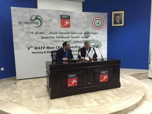 Photo of الأمير علي ومسعود يوقعان اتفاقية بطولة غرب آسيا