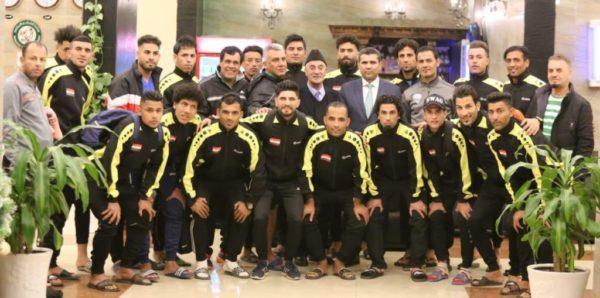 Photo of سعد معن يزور وطني الشاطئية ويتعهد بتفريغ اللاعبين المنتسبين