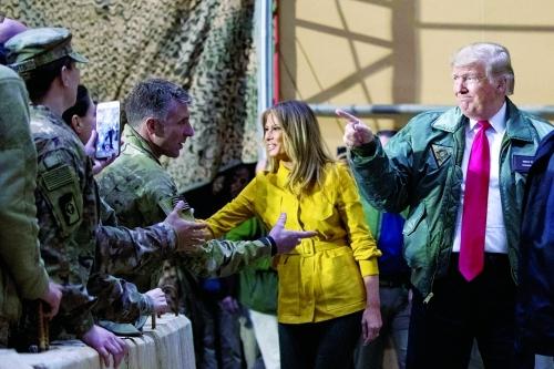 "Photo of صورة تجبر ترامب على كشف زيارته ""السرية"" للعراق"