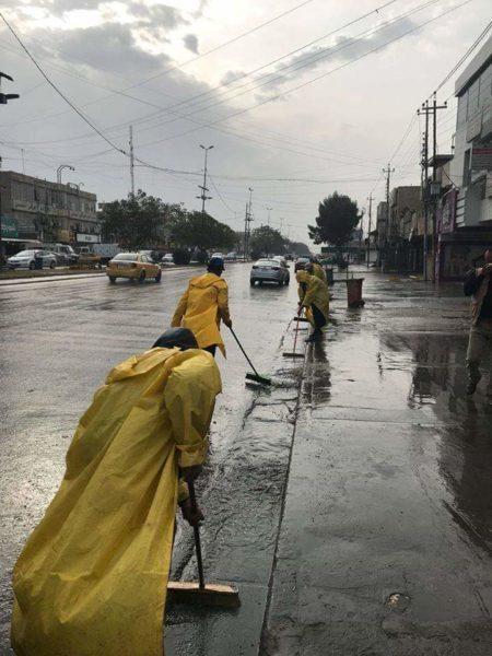 Photo of بالصور.. امانة بغداد تستنفر طاقاتها للسيطرة على مياه الأمطار
