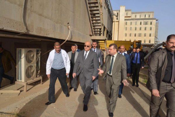 Photo of وزير التجارة يتفقد سايلو التاجي لمتابعة خزين الحنطة واليات الفحص المختبري قبل تجهيزة للمواطنين
