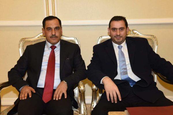 Photo of وفد اردني رفيع المستوى يصل بغداد لبحث اطر التعاون المستقبلي بين البلدين