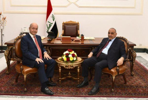 Photo of صالح و عبد المهدي يؤكدان على ضرورة معالجة الاشكاليات بين الفرقاء السياسيين