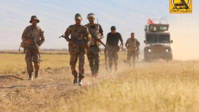 Photo of الحشد الشعبي يدمر مضافة لداعش ويعثر على مخبأ للعتاد الثقيل في جرف النصر