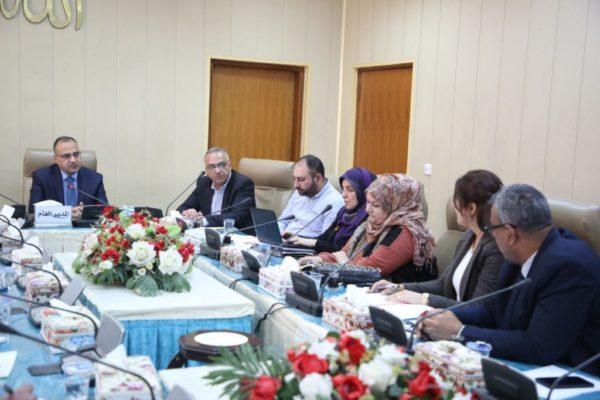 Photo of مدير عام  صحة الرصافة يعقد اجتماعا للجنة الفرعية لمكافحة المخدرات