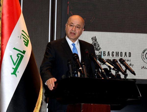 Photo of صالح خلال افتتاحه معرض بغداد الدولي للكتاب يؤكد على ضرورة مواجهة الفكر المتطرف وعزله