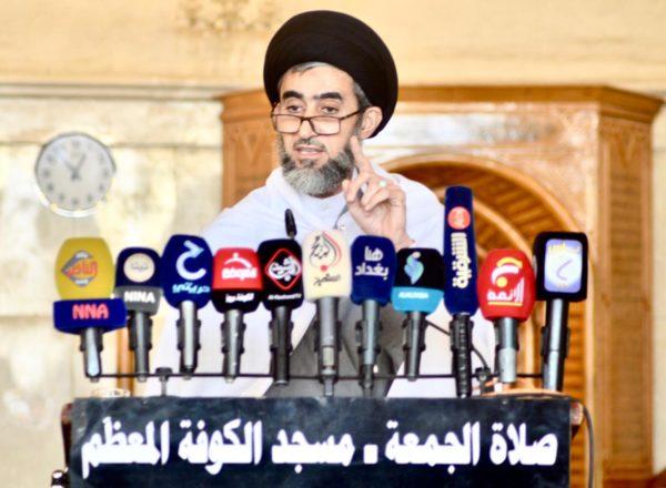 Photo of خطيب الكوفة: نرفض ان يكون العراق منطلق لضرب او مراقبة اي دولة من دول الجوار