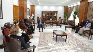 Photo of رئيس مجلس القضاء الاعلى يبارك للفائزات برابطة القاضيات العراقية