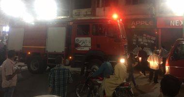 Photo of احتراق 6 محال تجارية و 4 منازل سكنية في حريق الشعلة
