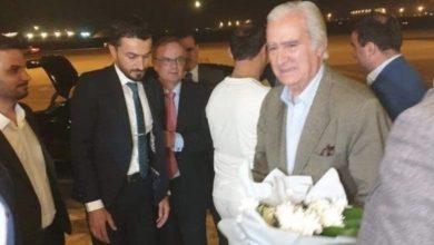 Photo of وفد نادي ريال مدريد يصل الى بغداد