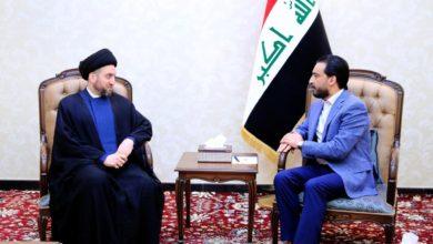 Photo of خلال لقائه الحلبوسي .. السيد عمار الحكيم يشدد على ضرورة ادراج احدث الموصل على جدول اعمال مجلس النواب