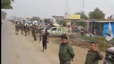 Photo of بالفيديو.. انتشار مكثف لسرايا السلام على طريق بغداد – سامراء لتأمين حماية الزوار