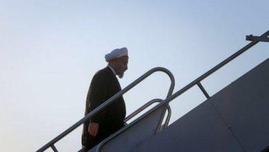 Photo of روحاني والوفد المرافق له يتوجه الى بغداد