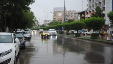 Photo of أمطار بدءاً من اليوم والى الخميس المقبل