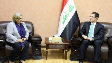 Photo of وزير التخطيط يبحث مع منظمة الهجرة الدولية تعزيز التعاون المشترك في الملف الإنساني