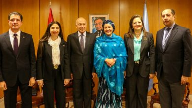 Photo of وزير التخطيط يبحث مع الأمم المتحدة والجامعة العربية سبل تعزيز التعاون المشترك
