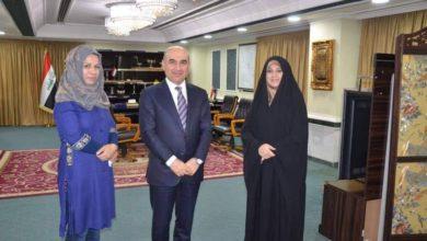 Photo of هدى سجاد تلتقي وزير الإعمار والإسكان والبلديات العامة