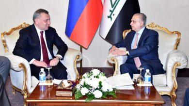 Photo of انطلاق الاجتماع الثنائيّ بين وزير الخارجيّة ونائب رئيس الوزراء الروسيّ