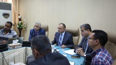 Photo of مدير عام صحة الرصافة يناقش مع وفد من وزارة الصحة استحداث دائرة صحة شرق القناة