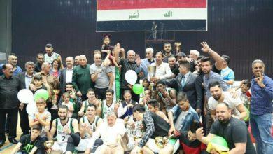 Photo of بالصور.. احمد رياض يتوج فريق النفط بلقب دوري كرة السلة لهذا الموسم