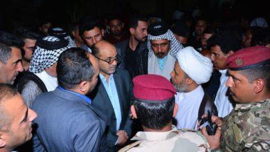 Photo of اهالي حي السعادة ينهون اعتصامهم بعد زيارة محافظ بغداد واستجابته لمطالبهم
