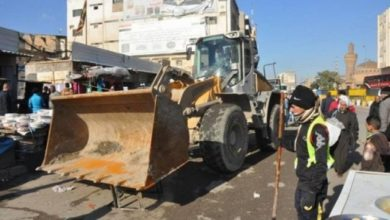Photo of امانة بغداد تنفذ حملة رفع التجاوزات في عدد من مناطق العاصمة
