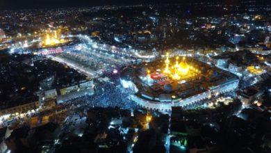 "Photo of عبد المهدي يبارك بحلول ليلة النصف من شعبان وذكرى مولد الامام المهدي ""عج"""