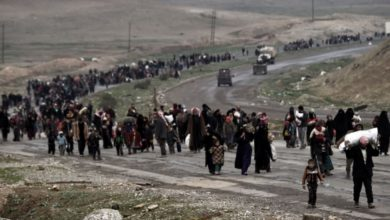 Photo of حقوق الإنسان: هجرة عكسية من نينوى الى الإقليم بسبب الوضع الأمني